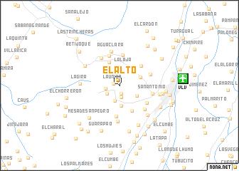map of El Alto