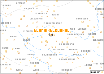 map of El Amaïr el Kouhal