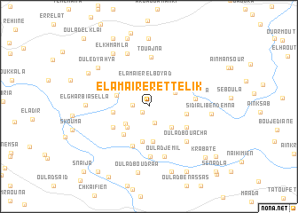 map of El Amaïrer et Telik