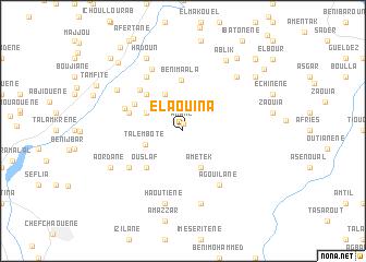 map of El Aouina