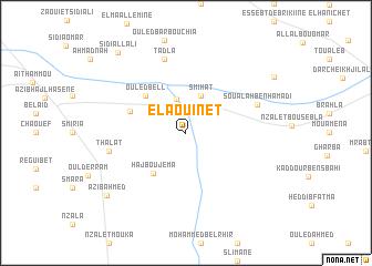 map of El Aouinet