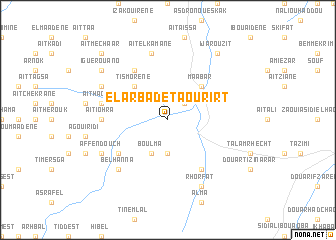 map of El Arba de Taourirt