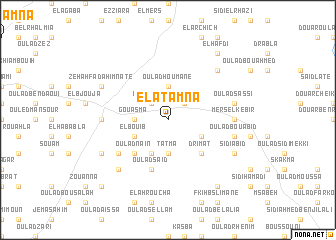 map of El Atamna