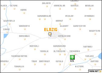 Elaz Turkey map nonanet