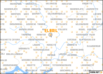 map of El Bail