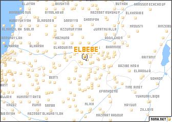 map of El Bébé