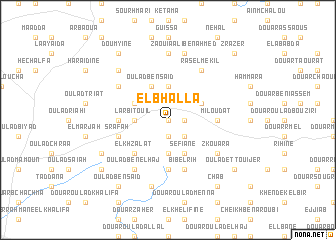 map of El Bhalla