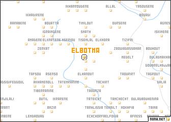 map of El Botma
