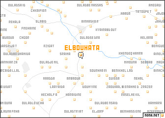 map of El Bouhata