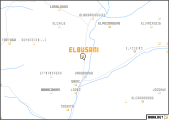 map of El Busani
