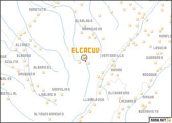 map of El Cacuv