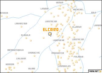 map of El Cairo