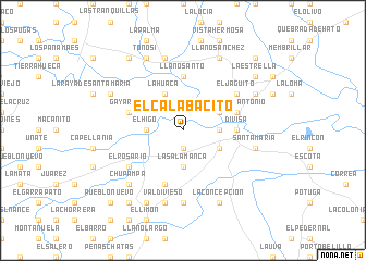 map of El Calabacito