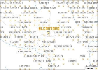 map of El Cántaro