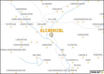 map of El Carrizal