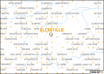 map of El Castillo
