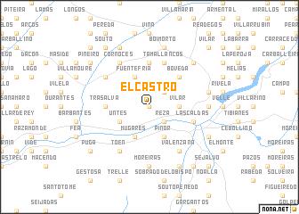 map of El Castro
