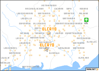map of El Cayo