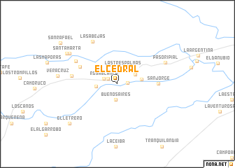 map of El Cedral