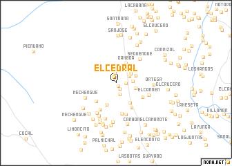 map of El Cedral