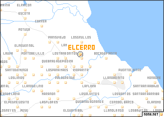 map of El Cerro
