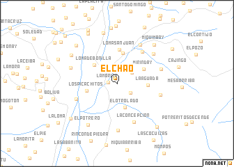 map of El Chao