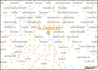 map of El Chumicón