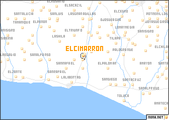 map of El Cimarrón