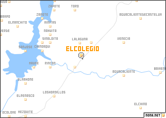 map of El Colegio