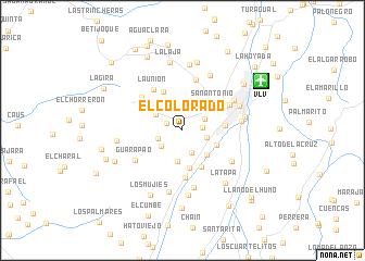 map of El Colorado
