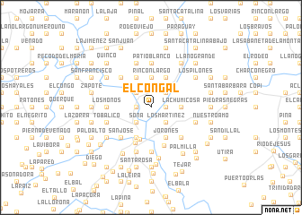 map of El Congal