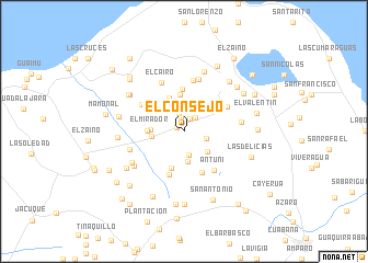 map of El Consejo
