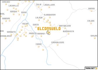 map of El Consuelo