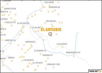 map of El Danubio