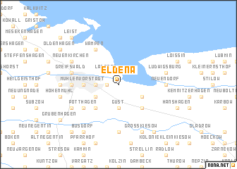 map of Eldena