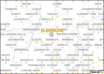 map of El Durazno