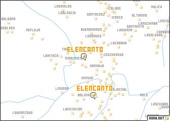 map of El Encanto