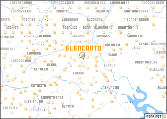 map of El Encanto