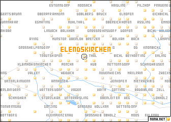 map of Elendskirchen