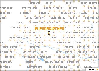 map of Elendskirchen