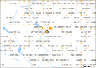 map of Elend