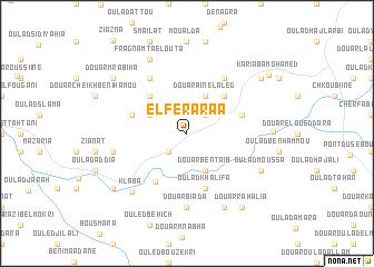 map of El Feraraa