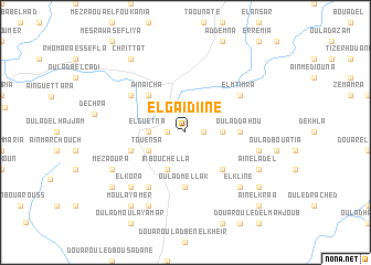 map of El Gaidiine