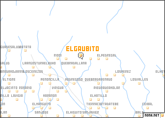 map of El Gaubito