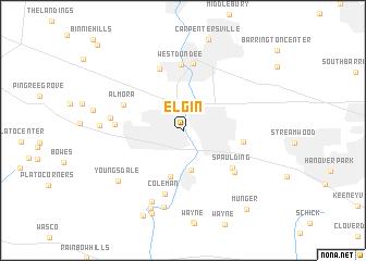 map of Elgin