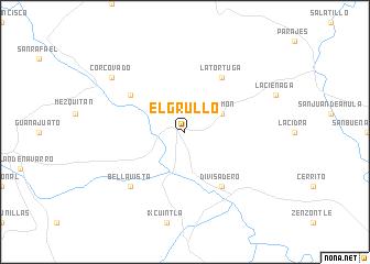 El Grullo (Mexico) map - nona.net on