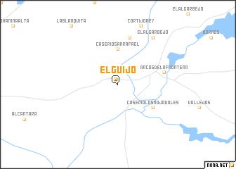 map of El Guijo
