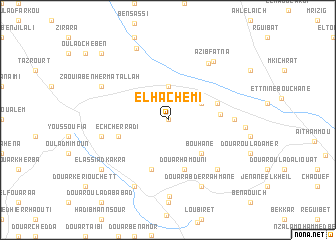 map of El Hachemi