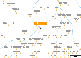 map of El Haïba