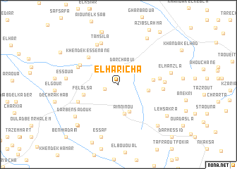 map of El Haricha